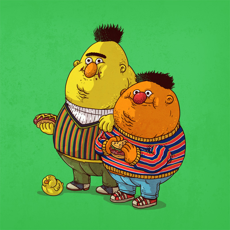 Famous Chunkies by Alex Solis