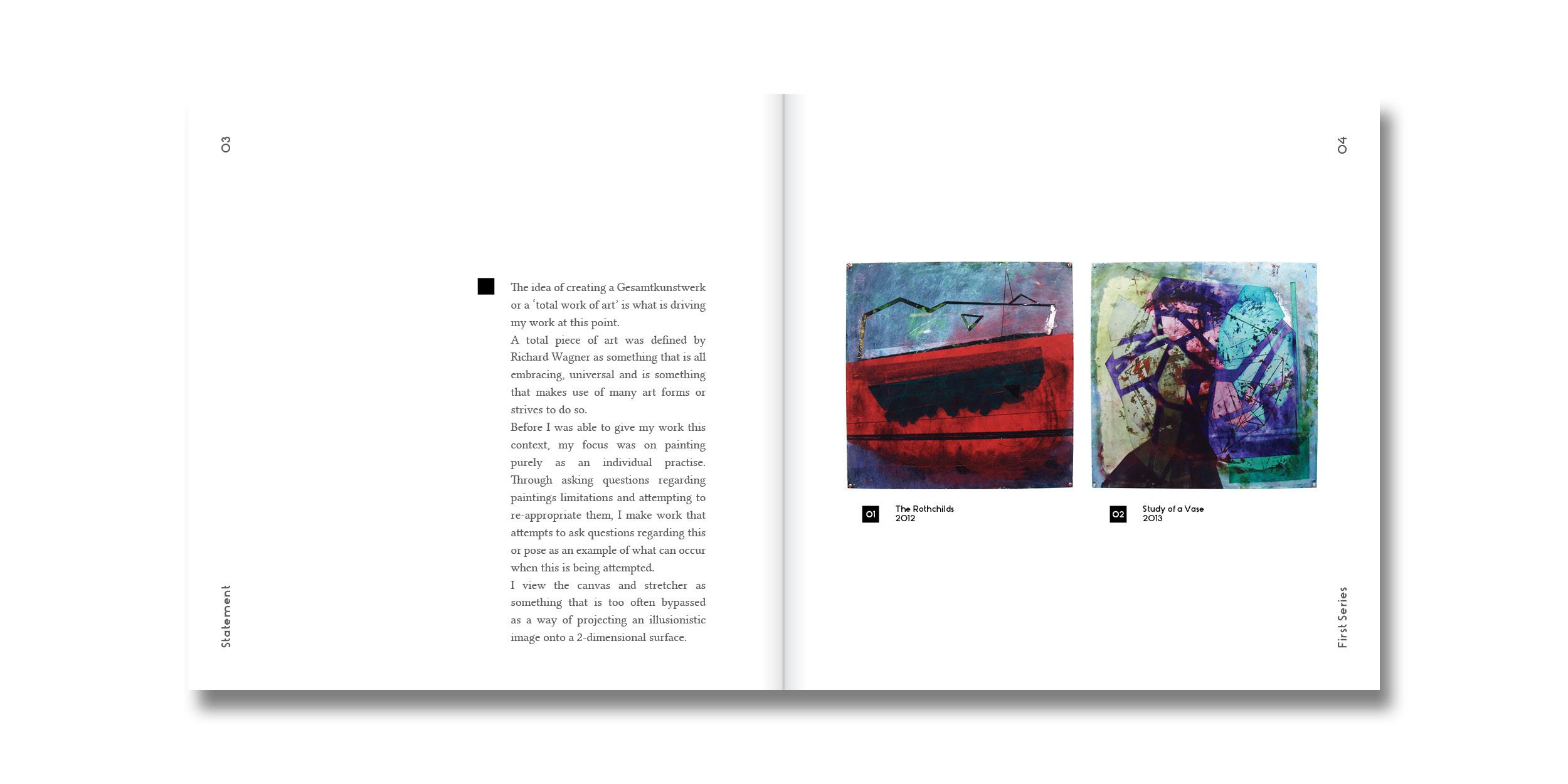 Artist catalogue essay