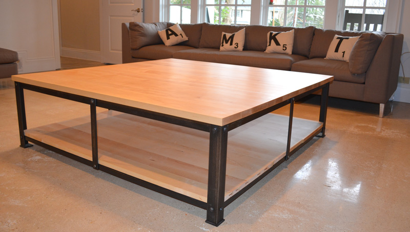 Square coffee table kala studios for Coffee table 60 x 60