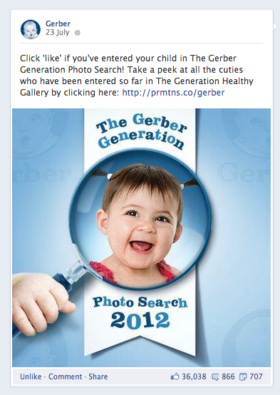 Meet the 2017 Winner of the Gerber Baby Photo Search! - Us Weekly Gerber generation photo search gallery